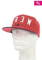 KR3W Encore Snapback Cap navy / red