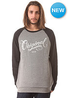KR3W Los Originales Sweat grey heather / black