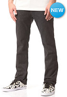 KR3W Slim Denim Pant dark black
