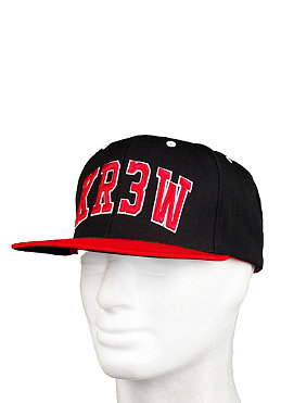 KR3W Team Snap Starter Cap black/red