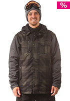 L1 Rambler 2013 Snow Jacket dark ivy spray dye