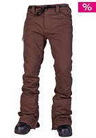 L1 Skinny Denim Pant brown overdye den