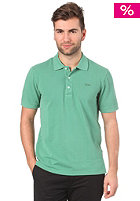 LACOSTE Croco S/S Polo Shirt dyed green
