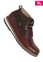 LACOSTE FOOTWEAR Delevan 4 SRM burg brown/dark brown