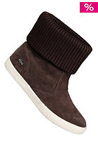 LACOSTE FOOTWEAR Womens Matane Knit 2 SRW dark brown