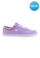 LACOSTE FOOTWEAR Womens Vaultstar Sleek Ec lt purp/wht