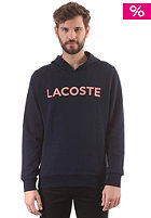 LACOSTE Hooded Sweat navy blue/turkey red