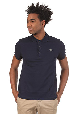 LACOSTE Live Slim Fit S/S Polo Shirt marine