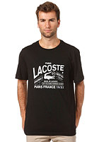 LACOSTE S/S T-Shirt black/white