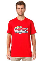 LACOSTE S/S T-Shirt cherry red/multico