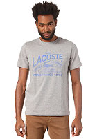 LACOSTE S/S T-Shirt gravier/obscurity