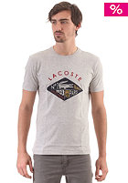 LACOSTE S/S T-Shirt grey chine