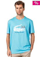 LACOSTE S/S T-Shirt hawaiian/white-cabin boy