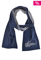 LACOSTE Scarf galaxy/medium grey chine