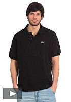 LACOSTE Uni S/S Polo Shirt black