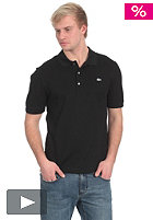 LACOSTE Uni Silver Edition Slim Fit S/S Polo Shirt black