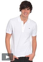 LACOSTE Uni Silver Edition Slim Fit S/S Polo Shirt white