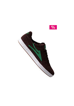 LAKAI  brown/green suede