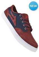 Carroll 5 burgundy suede
