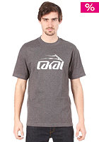 LAKAI Dual 11 S/S T-Shirt CHARCOAL HEATHER