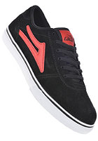 LAKAI Kids Manchester black red suede