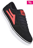 Kids Manchester black red suede
