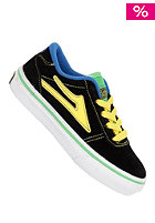 LAKAI Manchester BLACK GREEN SUEDE