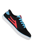 LAKAI Manchester Kids black flame suede