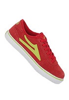 LAKAI Manchester Kids red lime suede