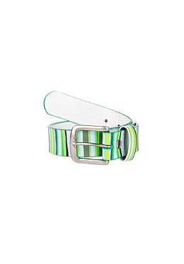 LAKAI Torn Stripe Belt green