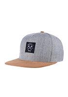 LAKEVILLE MOUNTAIN AX Logo grey heather/brown