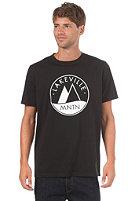 LAKEVILLE MOUNTAIN Basic Logo 1.0 S/S T-Shirt black/white