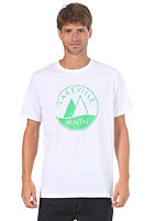 LAKEVILLE MOUNTAIN Basic Logo 1.0 S/S T-Shirt white/green
