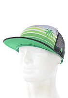 LAKEVILLE MOUNTAIN Beach Life Trucker Cap black/palms kelly/ lime