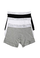 LAKEVILLE MOUNTAIN Boxer Briefs 3Pack black/grey heather/white