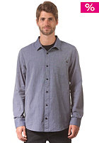 LAKEVILLE MOUNTAIN Classic L/S Shirt navy heather
