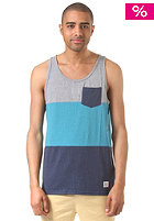 LAKEVILLE MOUNTAIN Colorblock Pocket grey heather/aqua heather/navy heather