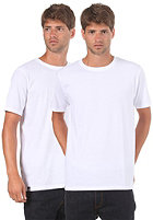 LAKEVILLE MOUNTAIN Double Pack Round Neck S/S T-Shirt white