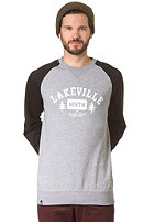 LAKEVILLE MOUNTAIN Est With Love Crew Sweatshirt grey heather/black