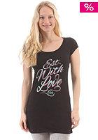 Est With Love Long S/S T-Shirt black/purple
