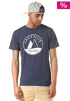 LAKEVILLE MOUNTAIN LM Logo navy heather/white