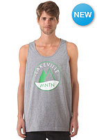 LAKEVILLE MOUNTAIN Logo Tank Top grey heather/green/white