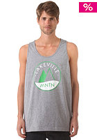 LAKEVILLE MOUNTAIN Logo Tank Top grey heather/green/white