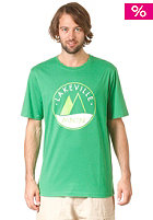 LAKEVILLE MOUNTAIN Logo Three Tone S/S T-Shirt kelly green/lime