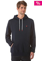 LAKEVILLE MOUNTAIN Plain Hooded Sweat deep navy/red