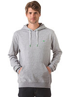 LAKEVILLE MOUNTAIN Plain Hooded Sweat grey heather/green