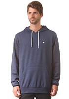 LAKEVILLE MOUNTAIN Plain Hooded Sweat navy heather/white