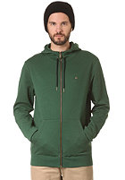 LAKEVILLE MOUNTAIN Plain Hooded Zip Sweat forrest/black
