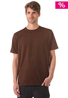 LAKEVILLE MOUNTAIN Plain S/S T-Shirt brown
