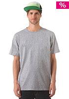 LAKEVILLE MOUNTAIN Plain S/S T-Shirt grey heather